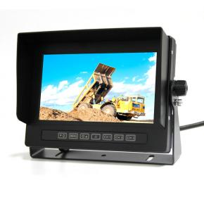 7 inch waterproof rearview monitor