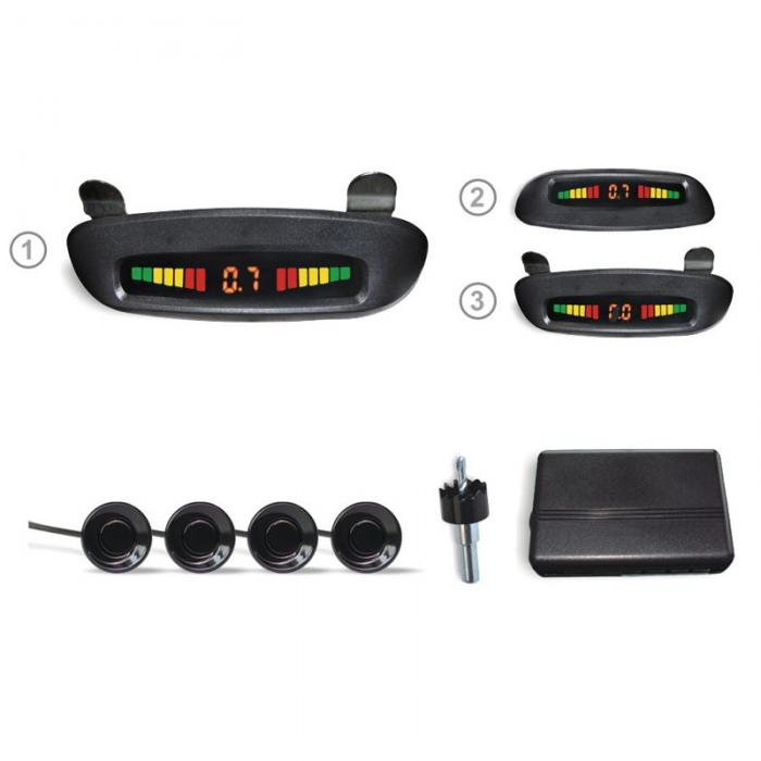 Roof Mounted Car Led Parking Sensor
