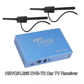 HEVC/H.265 Car DVB-T2 TV Receiver