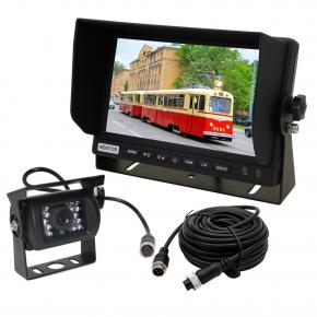 7 Inch Commercial Backup Camera Systems