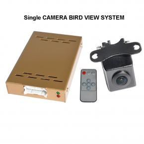 One Camera 360° Bird View System