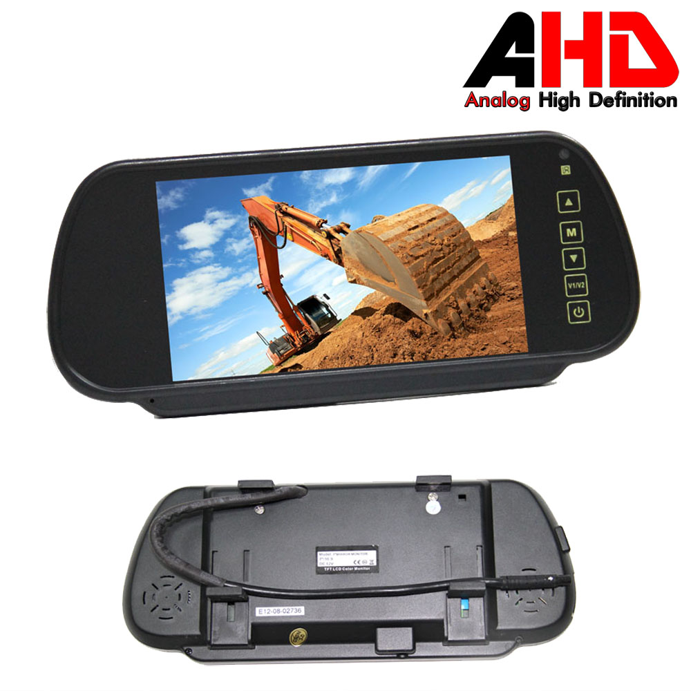 7 Inch Clip on AHD Mirror Monitor